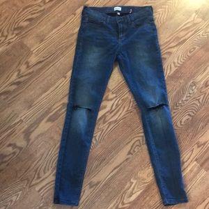 Sneak peak size 3 destructed jeans